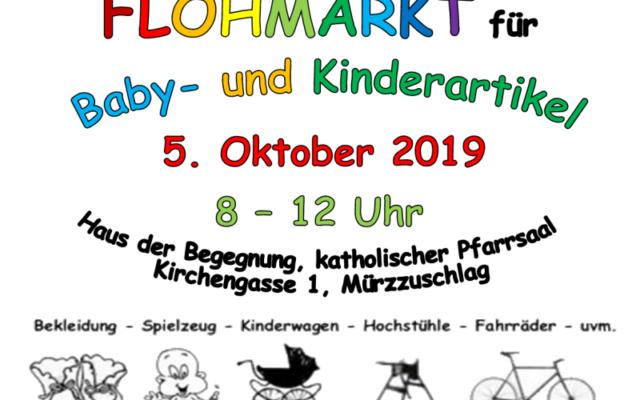 Abverkauf bei Flohmarkt für Baby- und Kinderartikel in Mürzzuschlag